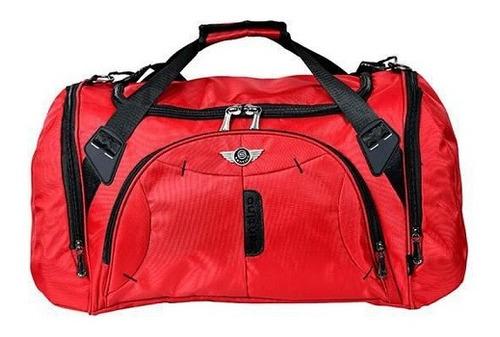 Imagem 1 de 1 de Bolsa De Viagem Santino Sas3u03 Vermelha