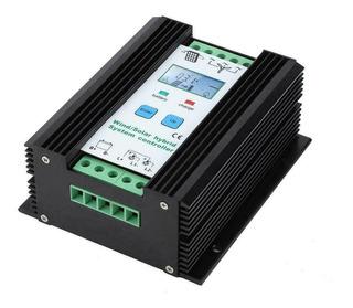 Controlador Carga Baterías Híbrido 12v 300-300w Solar Eólico