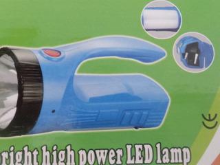 Lanterna Recarregavel Led Dupla Função