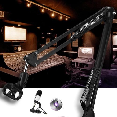 Imagem 1 de 5 de Braço Articulado Suporte De Microfone Mesa Profissional
