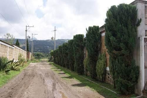 Terreno Totolapan En Fraccionamiento Privado