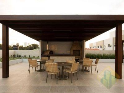 Apartamento Com 3 Dormitórios Para Alugar, 73 M² Por R$ 1.900/mês - Manaíra - João Pessoa/pb - Cod Ap0672 - Ap0672