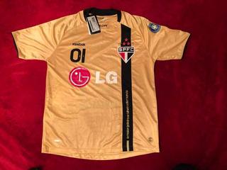 Camisa Nova Original São Paulo - Rogério Ceni 2009 Dourada