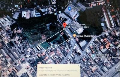 Terreno 7.500 M2 Centro De Ferraz De Vasconcelos