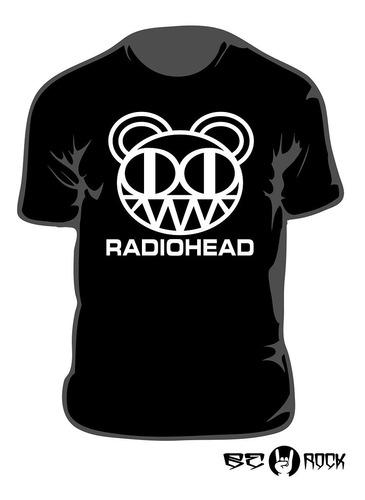 Remera Estampada Radiohead Vinilo Importado