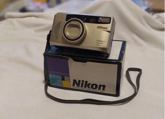 Câmera Analógica Nikon One Touch Zoom 90 - Na Caixa