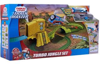 Thomas Pista Track Master Turbo Jungle Fjk50 Mattel
