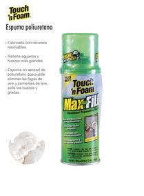 Espuma De Poliuretano En Lata Reusable 566g