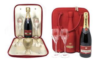 Champagne Frances Piper-heidsieck Bolso Térmico Con 2 Copas