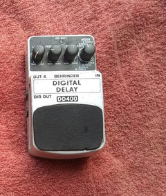 Pedal Behringer Digital Delay Dd400
