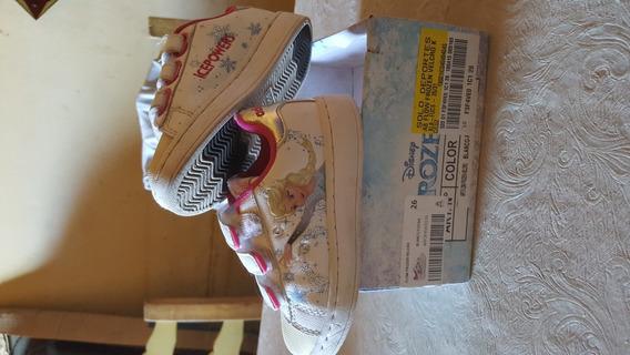 Zapatillas Usada Frozen Con Luces