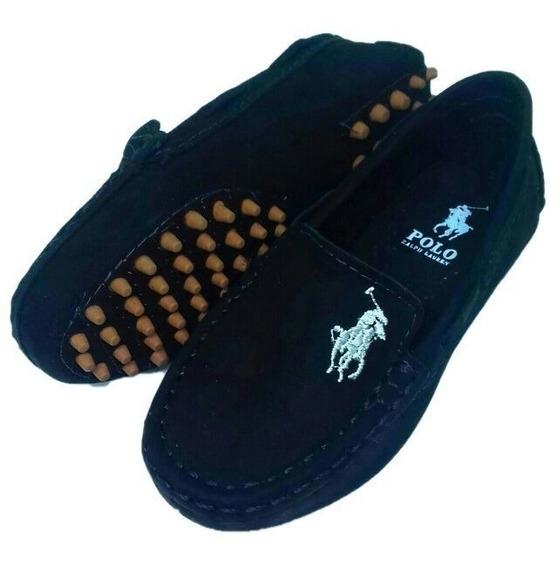 Sapato Mocassim Infantil Masculino Polo Oferta