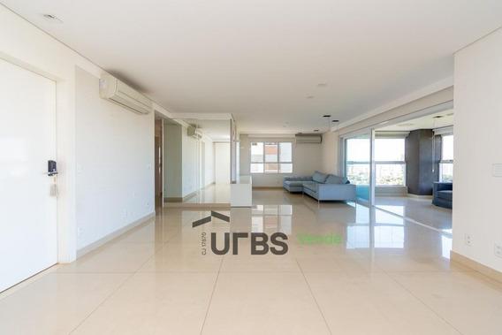 Apartamento Com 3 Dormitórios À Venda, 254 M² Por R$ 1.900.000 - Setor Marista - Goiânia/go - Ap2783
