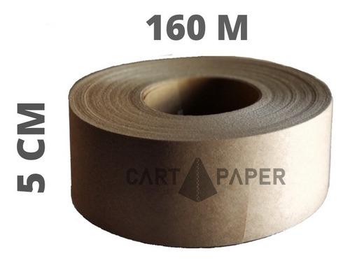 Imagen 1 de 4 de Cinta De Papel Engomado 160 Metros/ Cart Paper