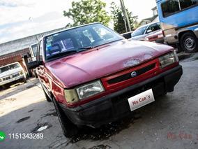 Fiat Duna Weekend 1.7 Diesel 1995 Rojo
