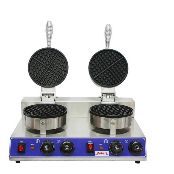 Máquina Para Waffles / Wafflera Eléctrica De 2 Cuerpos