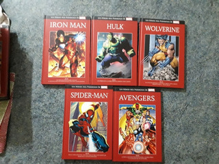 Coleccion De Marvel Salvat Tapa Roja