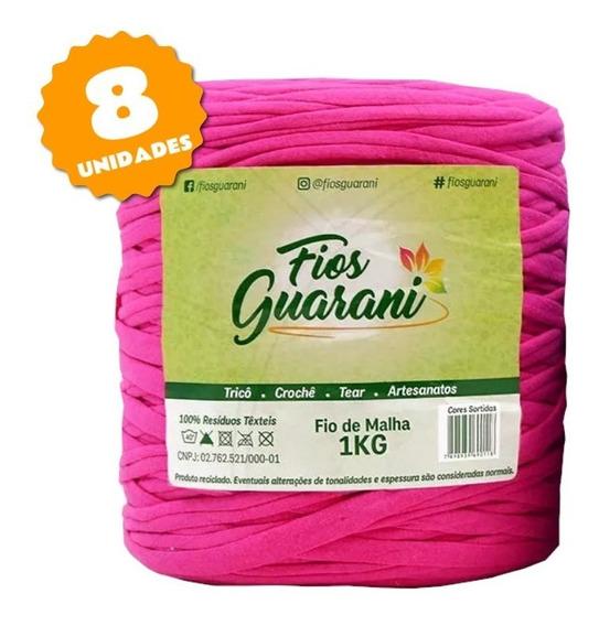 Fio De Malha Guarani 1kg - Kit 8 Unidades