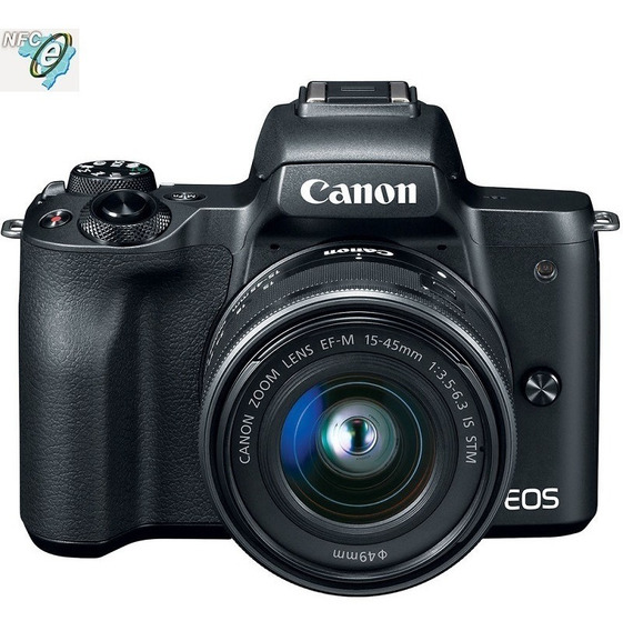Canon Eos M50 15-45mm Is Stm Nota Fiscal