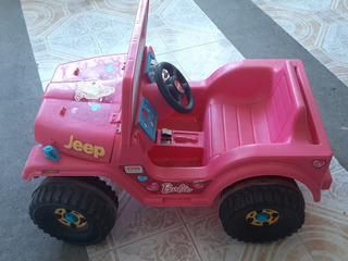 Jeep Barbie Electrico Vehiculos Para Ninos Carros Juegos Y Juguetes En Mercado Libre Mexico
