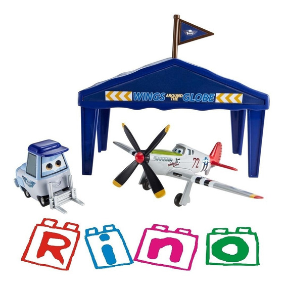 Disney Planes - Judge Davis - Conjunto Pit Stop - Mattel