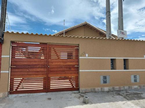 Casa Nova À Venda Em Itanhaém. 1260 M H