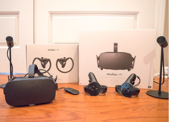 Oculus Rift 2019 + 2 Touch Controle Completo + Brindes Extra