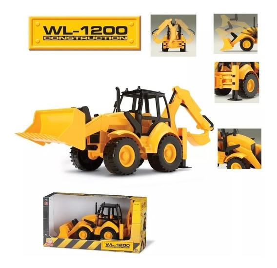 Trator Retroescavadeira Wl-1200 Construction 6810 Silmar