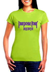 Remate Playeras Justin Bieber Purpose Tour Belieber