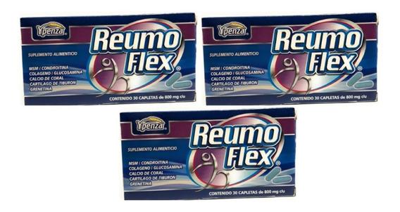 Reumo Flex Ypenza 30 Capletas (3 Cajas) Envio Full