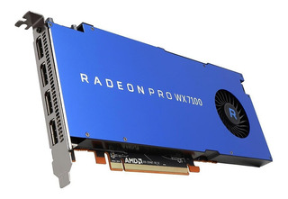 Placa Video Amd Radeon Pro Wx 7100 8gb Gddr5 Simil Quadro Dg