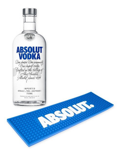 Vodka Absolut Original 750ml + Esterilla Arma Tu Barra