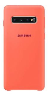 Funda Silicona Original Samsung S10 Pink