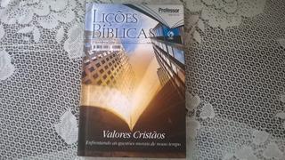 Revista Lições Bíblicas Capa Dura 2 Trimestre De 2018