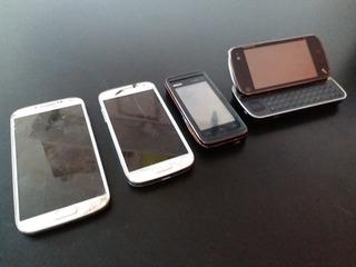 Lote Celular Samsung S4, S4 Mini, Nokia N97 Y 5530 No Andan