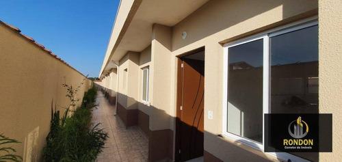 Casa Com 2 Dormitórios À Venda, 46 M² Por R$ 169.000,00 - Cibratel Ii - Itanhaém/sp - Ca1278