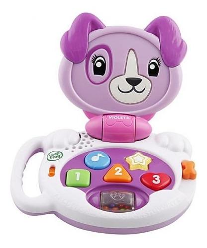 Notebook Infantil Baby Lap Violeta.