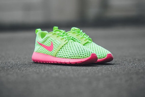 Tenis Feminino Nike Roshe One Verde Tamanho 36