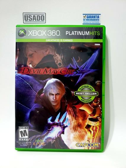 Jogo Devil May Cry Xbox 360 Usado