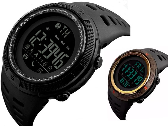 Relógio Skmei 1250 Origin Pedômetro Bluetooth Prova D´ Água