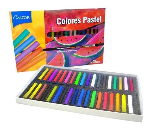 Imagen 1 de 1 de Colores O Gises Pastel Seco Stafford Con 36 Piezas