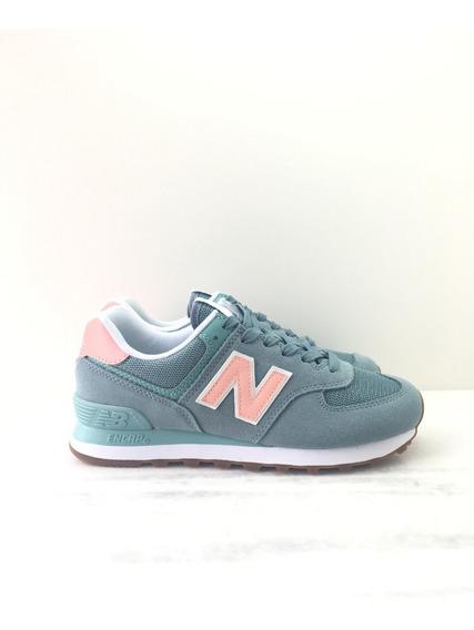Tênis New Balance 574 Flb Clássico Casual Feminino Original