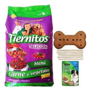 Comida Perro Tiernitos Carne Y Veg 25 Kg + Regalo + Envío