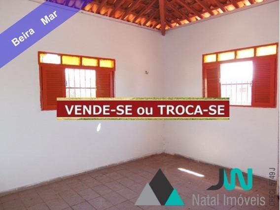 Venda De Casa Na Beira Mar Da Praia De Graçandu, Com 240m², Em Local De Fácil Acesso. - Ca00068 - 32070649