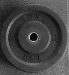 Discos Olimpicos De Goma York Para Pesas Crossfit