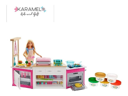 Cocina Barbie Ultimate Kitchen