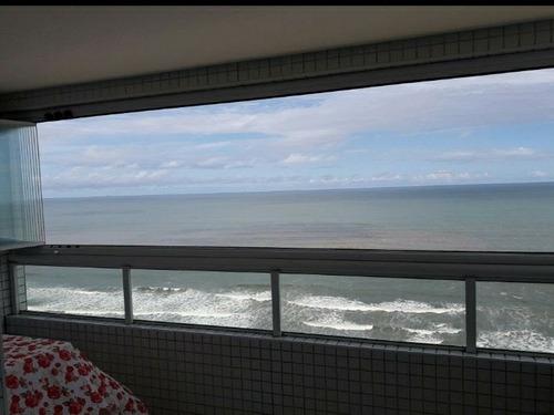 Imagem 1 de 14 de Vista Encantadora P/ O Mar - Churrasqueira - 2 Dormitórios
