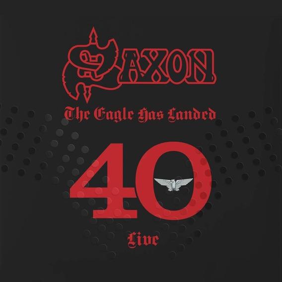 Saxon Eagle Has Landed 40 Live 3 Cd Nuevo En Stock Original