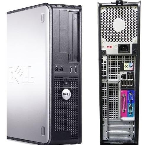 Imagem 1 de 3 de Cpu Dell Optiplex 745 Torre Core 2 Duo 2gb Hd 80gb Dvd