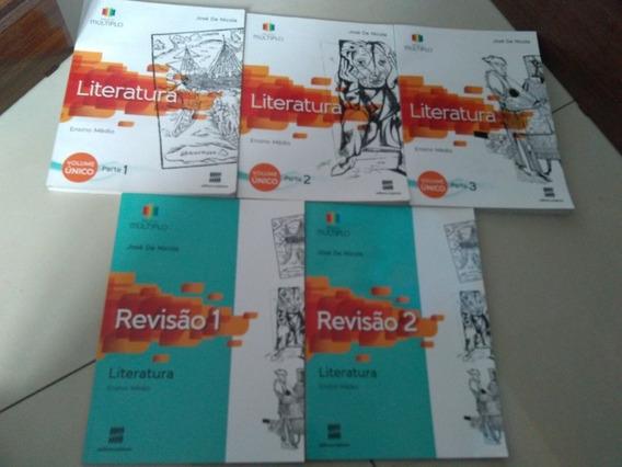 Literatura Projeto Múltiplo Faltando Os Cadernos De Estudos